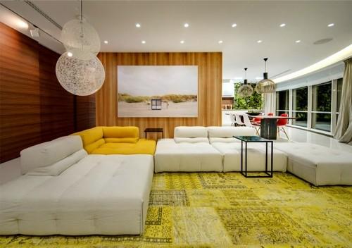 温馨简约的现代公寓